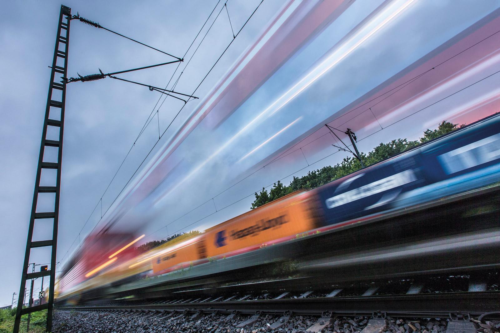China Zug Schienenverkehr
