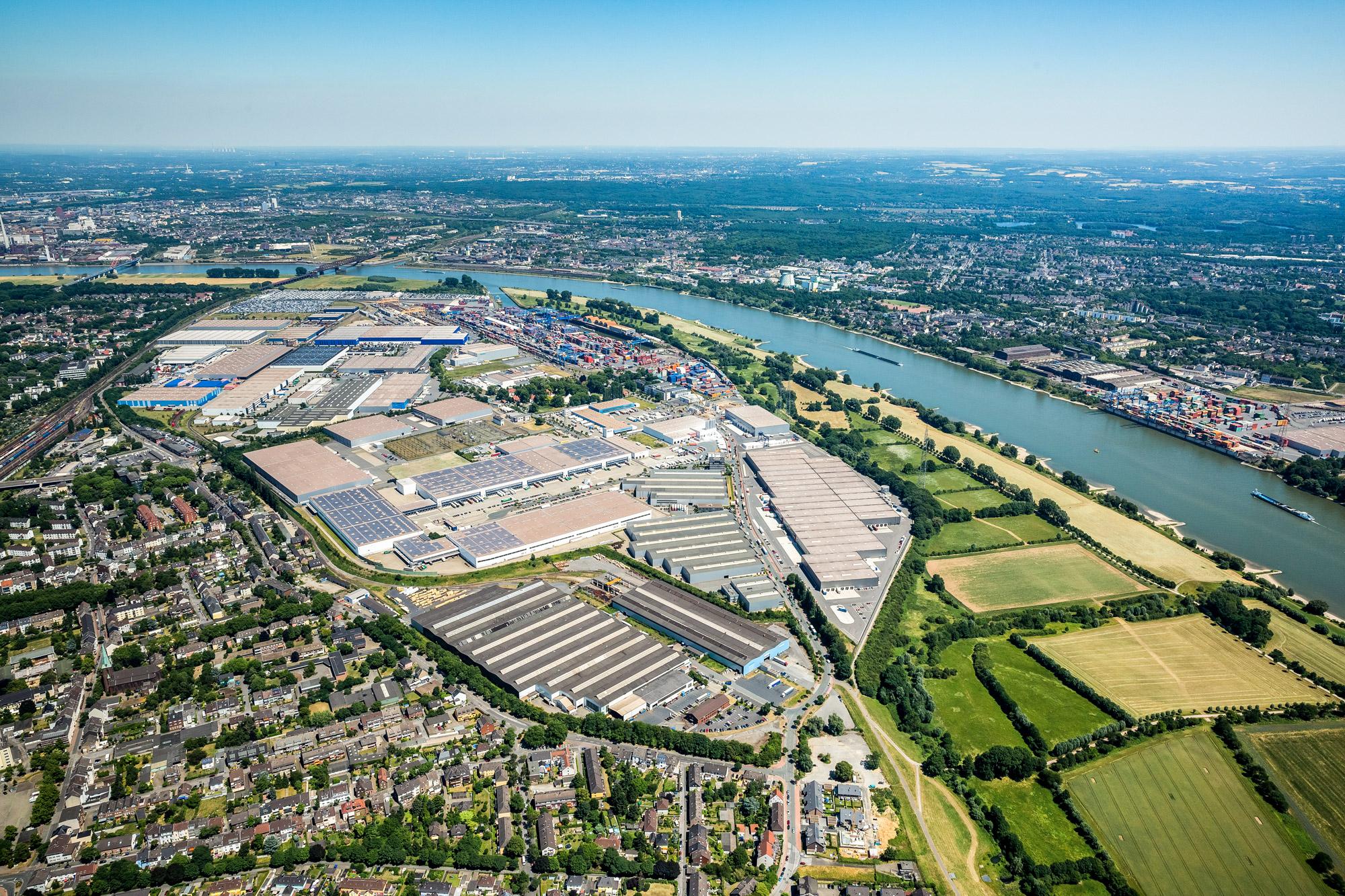 logport 1 duisport Duisburger Hafen