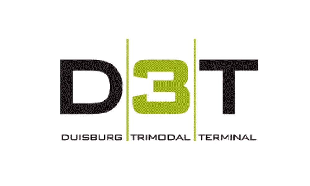 D3T Duisburg Trimodal Terminal Logo