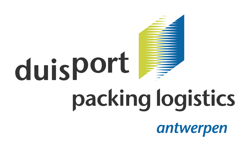 duisport packing logistics Antwerpen Logo