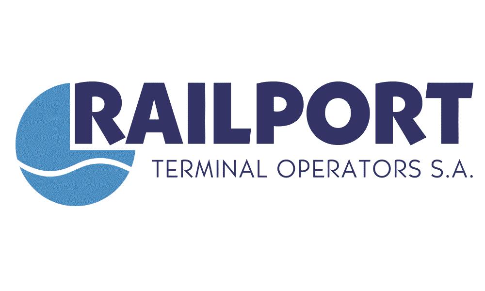 Railport terminal operators s.a. Logo