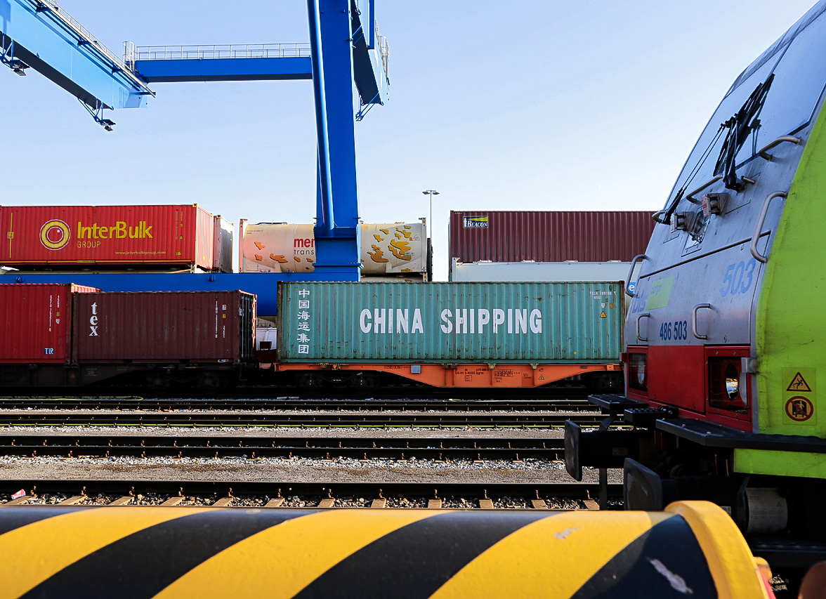 China Shipping Zugverbindung