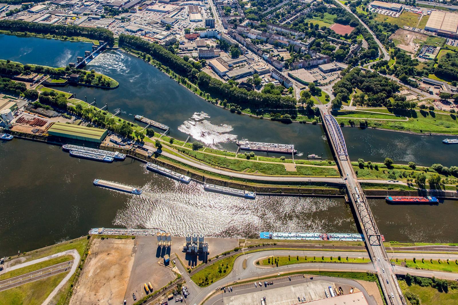 duisport Gelände Duisburg