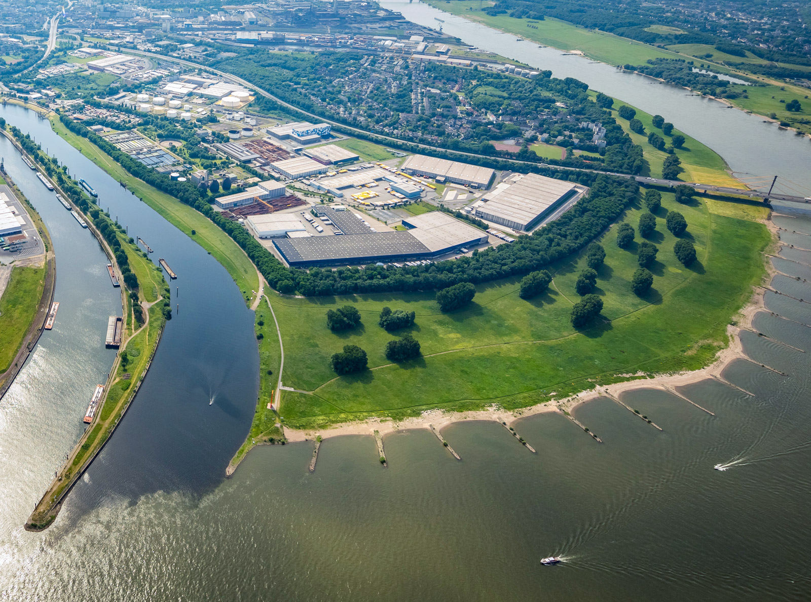 Neuenkamp duisport Gelände