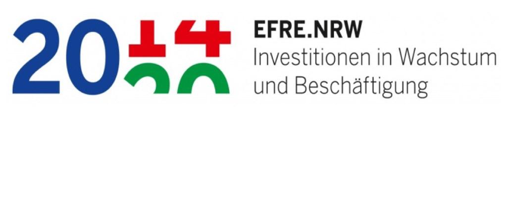 EFRE.NRW Investitionen in Wachstum und Beschäftigung Logo