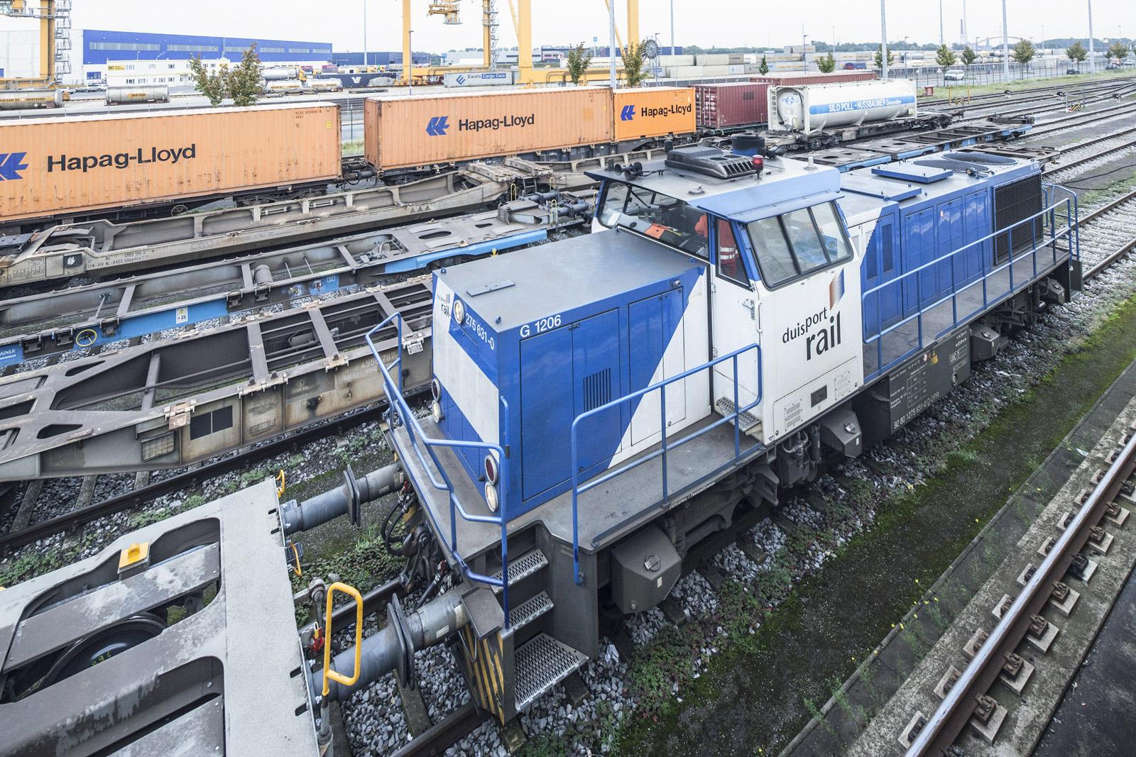 duisport rail Zug 3 G 1206