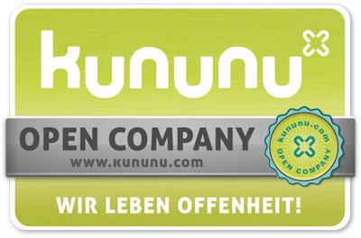 Kununu Zertifikat - Open Company