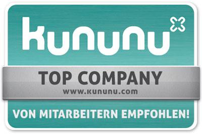 Kununu Zertifikat - Top Company