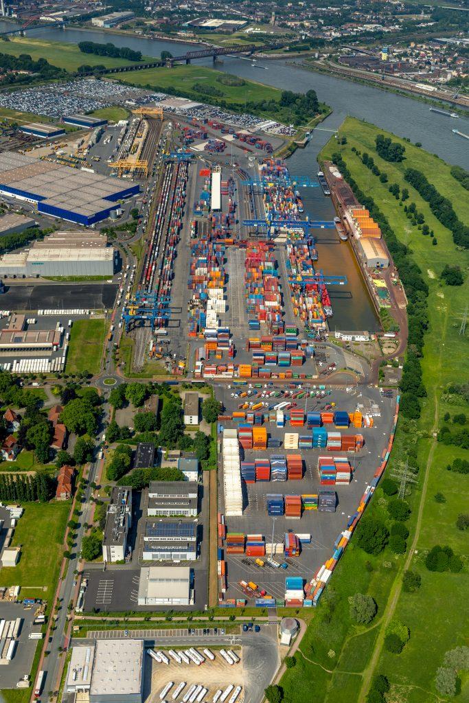 Containerterminals D3T & DIT Duisburg-Rheinhausen logport I