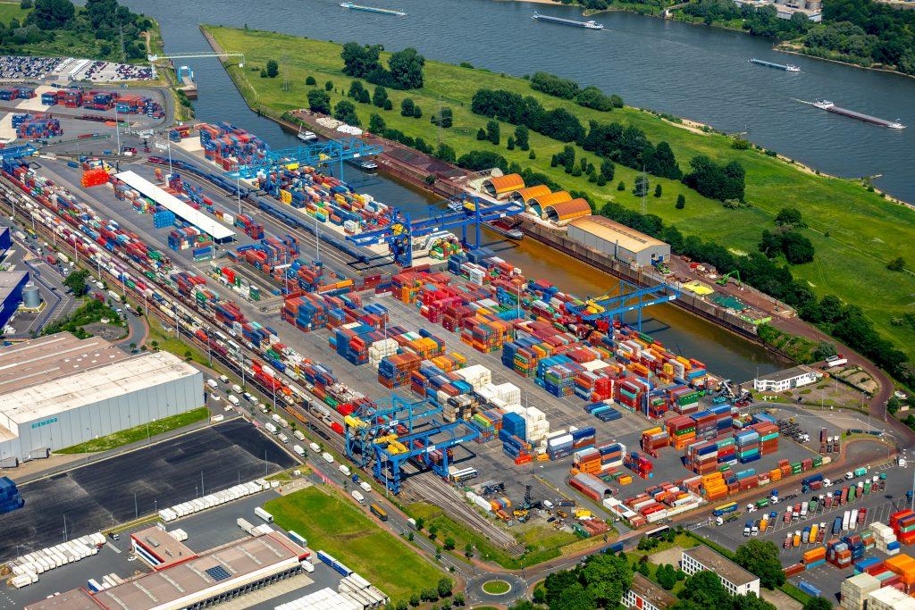 Containerterminals D3T und DIT logport I