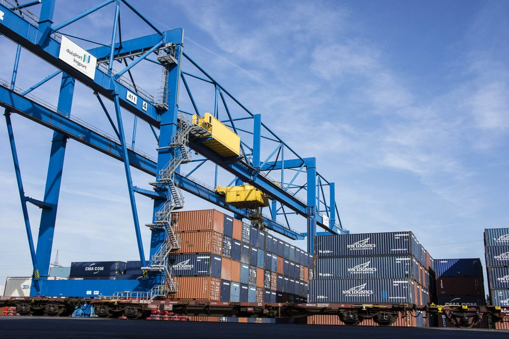 Containerumschlag D3T logport