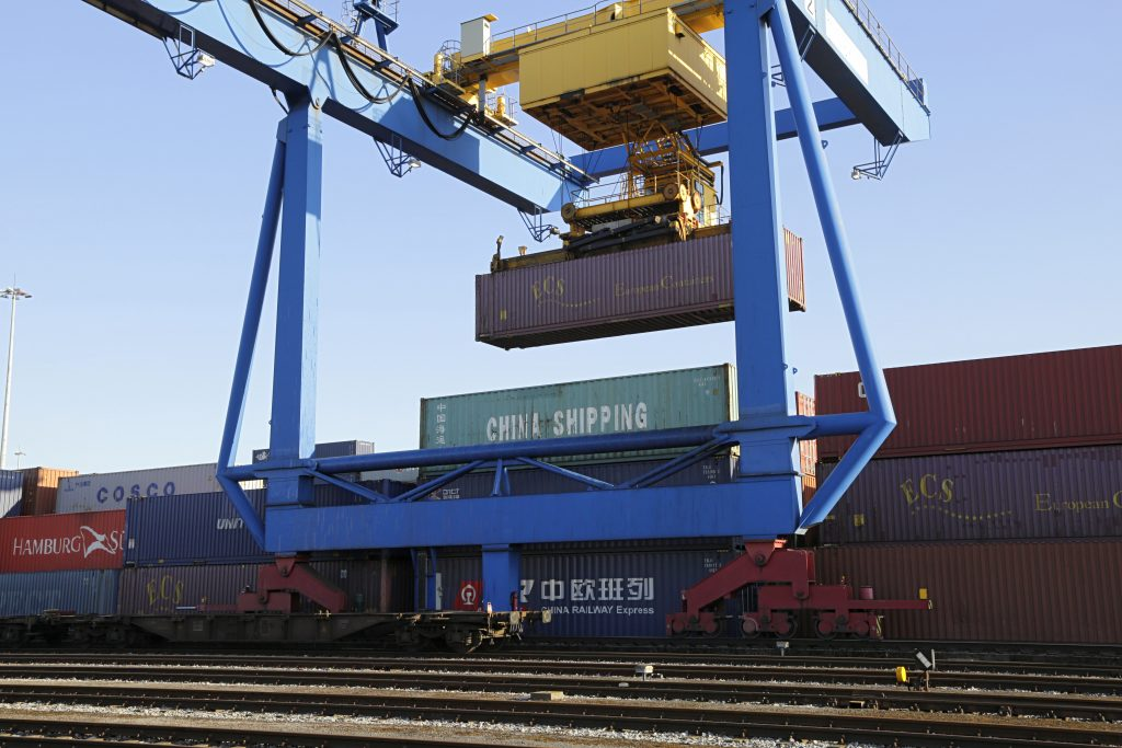 Containerumschlag DIT-Terminal