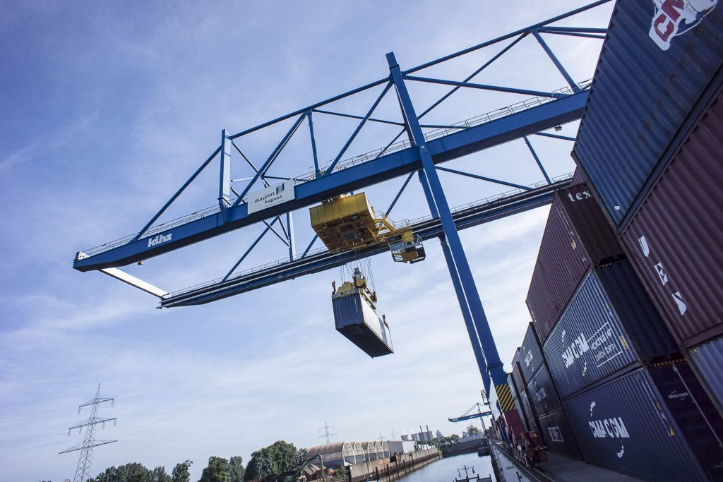 Containerumschlag D3T logport I