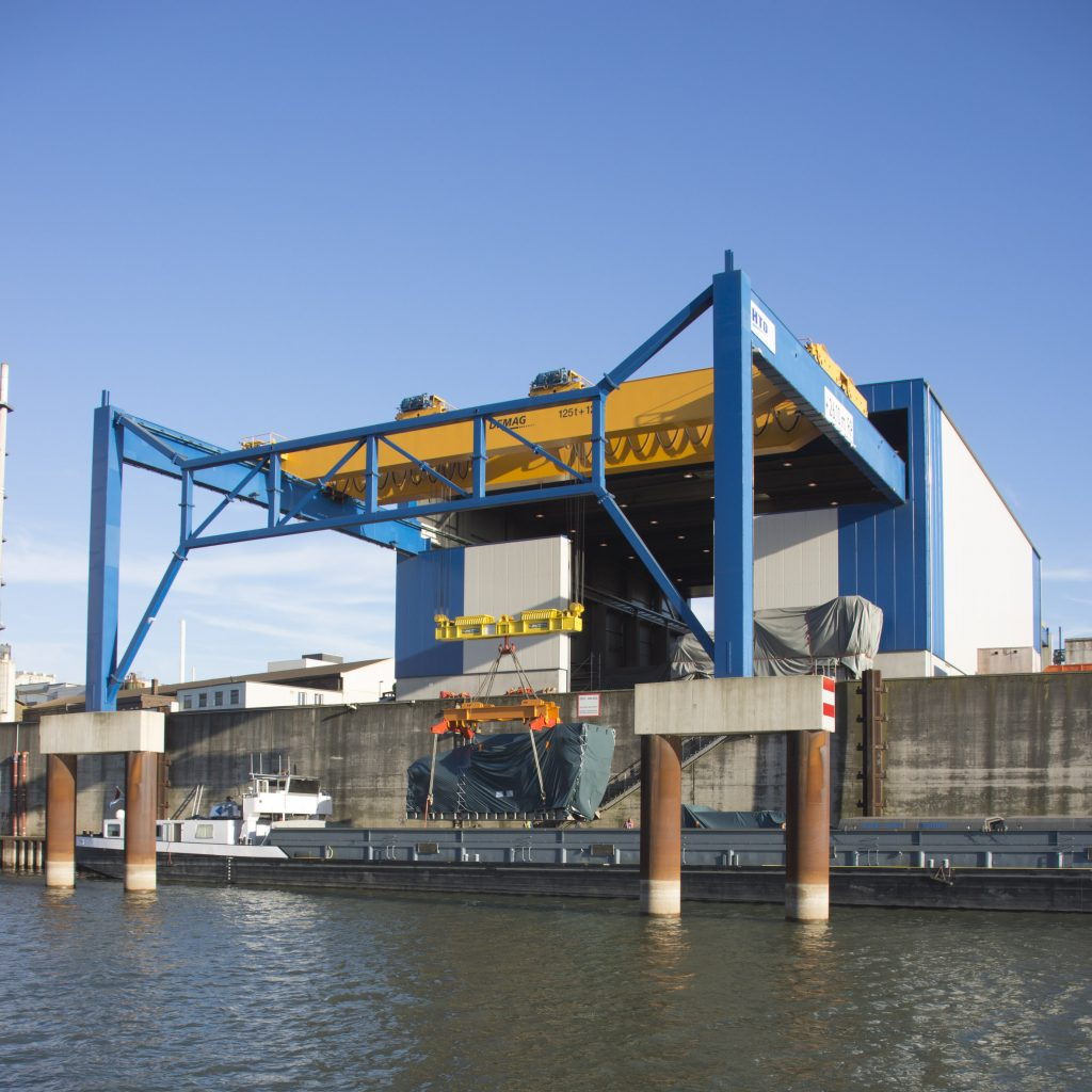 Heavy Lift Terminal Duisburg