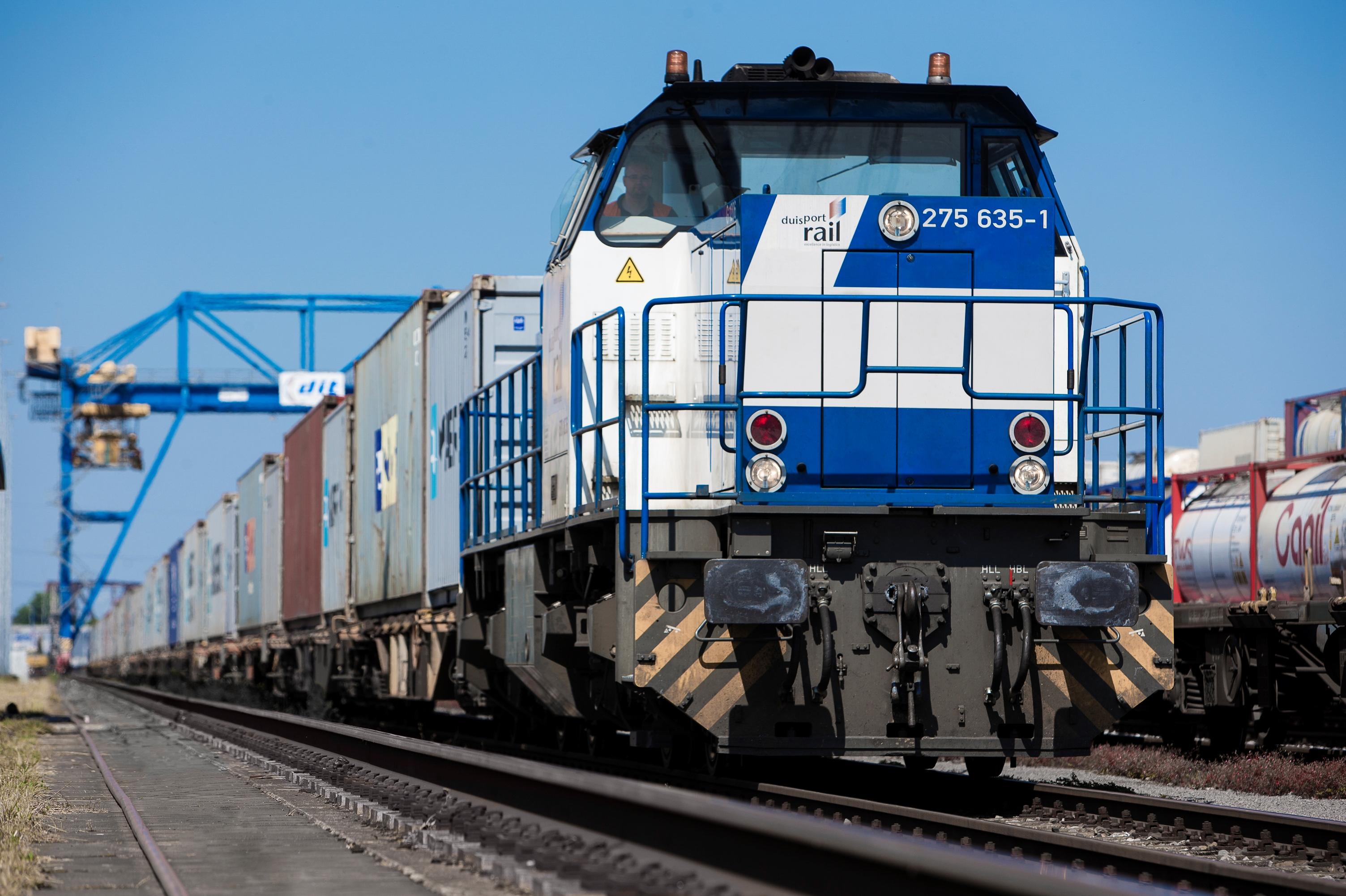 Duisport Rail Zug