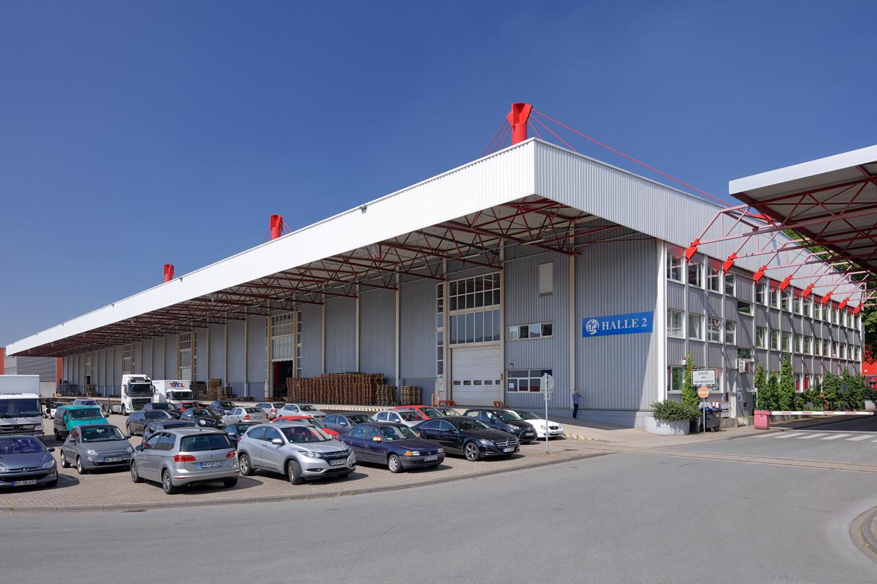Duisport Freihafen Halle 2 - Flächen- & Immobilienangebote