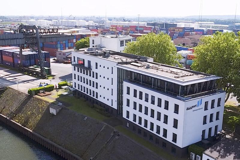 Zentrale Duisburger Hafen AG<br>(Schnittmaterial)