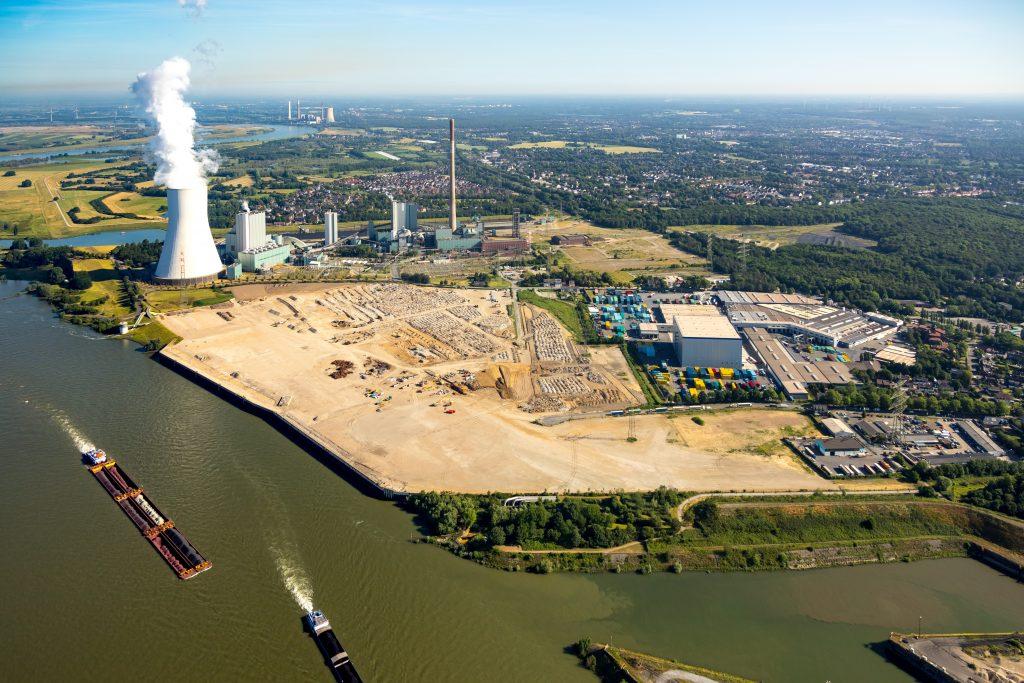 logport VI in Duisburg-Walsum